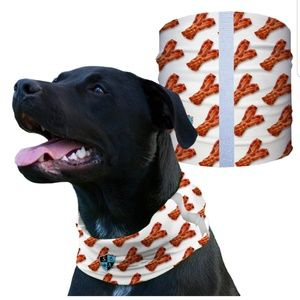SA BACON Dog Shield Bandana Scarf